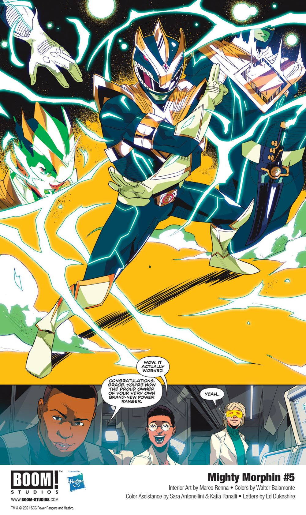MightyMorphin_005_InteriorArt_004_PROMO First Look at BOOM! Studios' MIGHTY MORPHIN #5