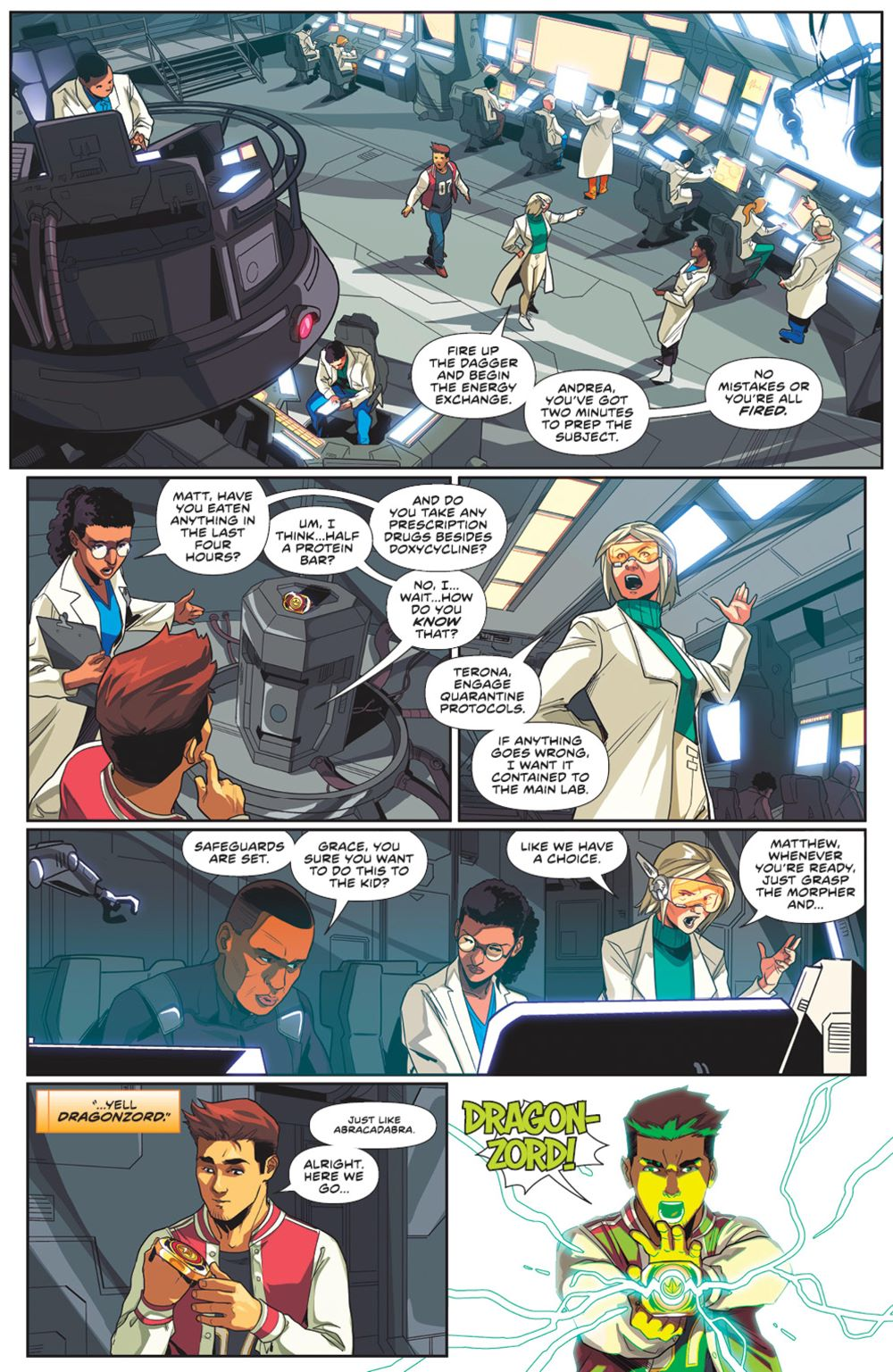 MightyMorphin_005_PRESS_5 ComicList Previews: MIGHTY MORPHIN #5