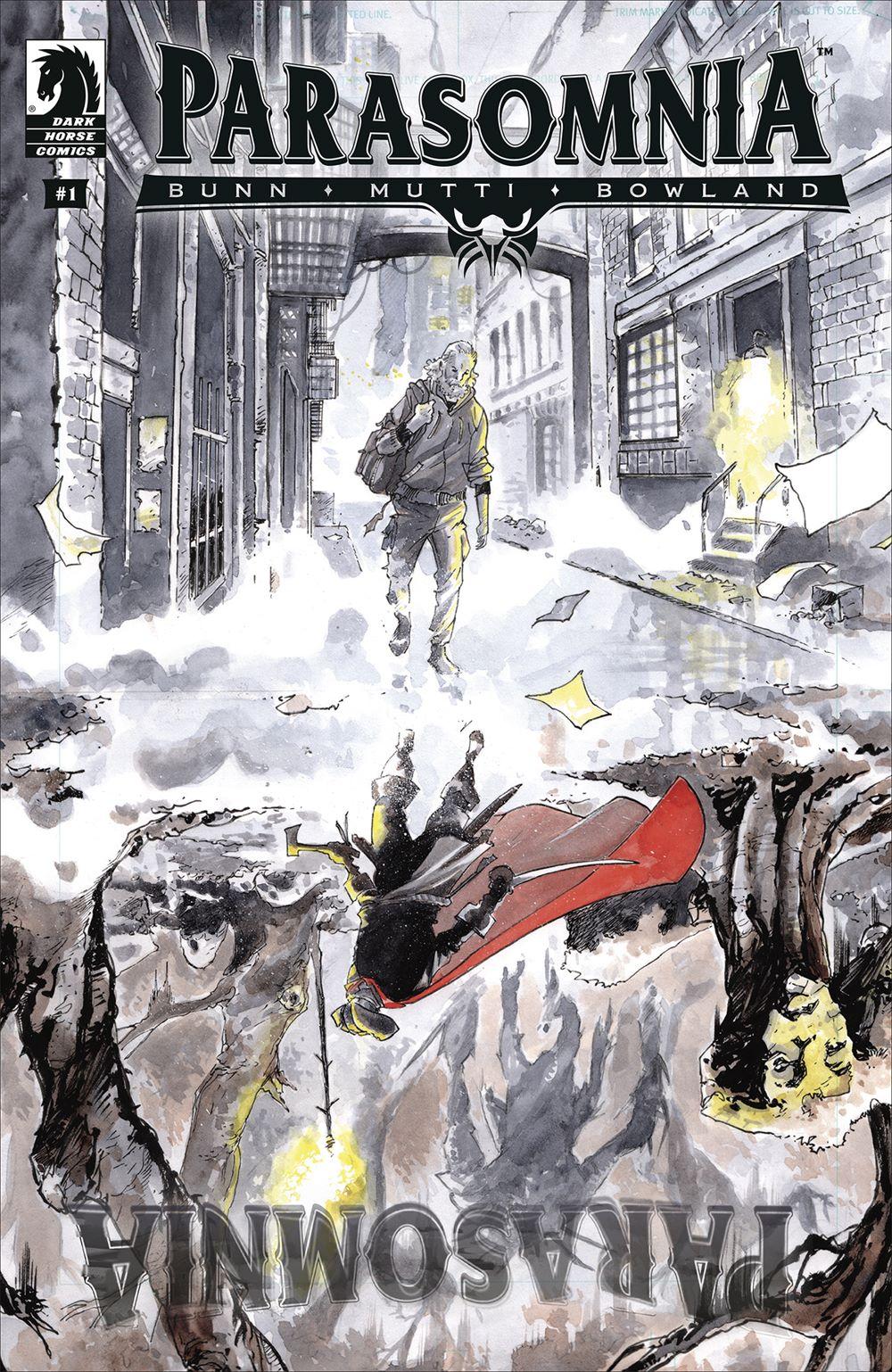PARA_i1_CVR_4x6_SOL Dark Horse Comics June 2021 Solicitations
