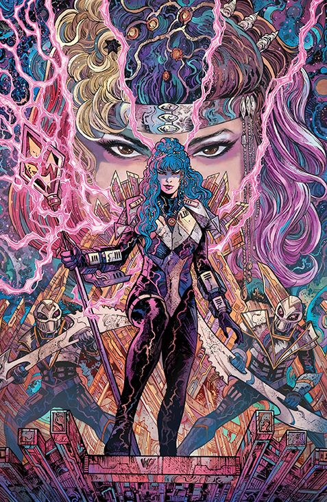 PR_Unlimited_HeirDarkness_001_Cover_C_Villain ComicList Previews: POWER RANGERS UNLIMITED HEIR TO THE DARKNESS #1