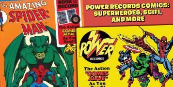 Power-REcords-Comics-300x157 Power Records Comics: Superheroes, SciFi, and More