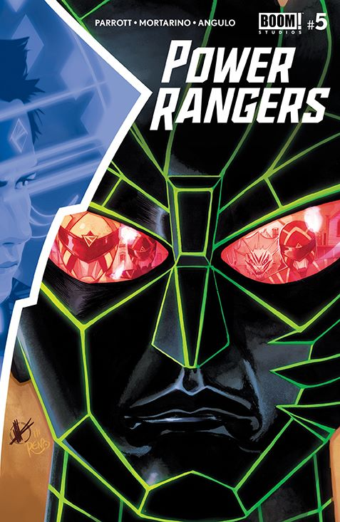 PowerRangers_005_Cover_A_Main ComicList Previews: POWER RANGERS #5
