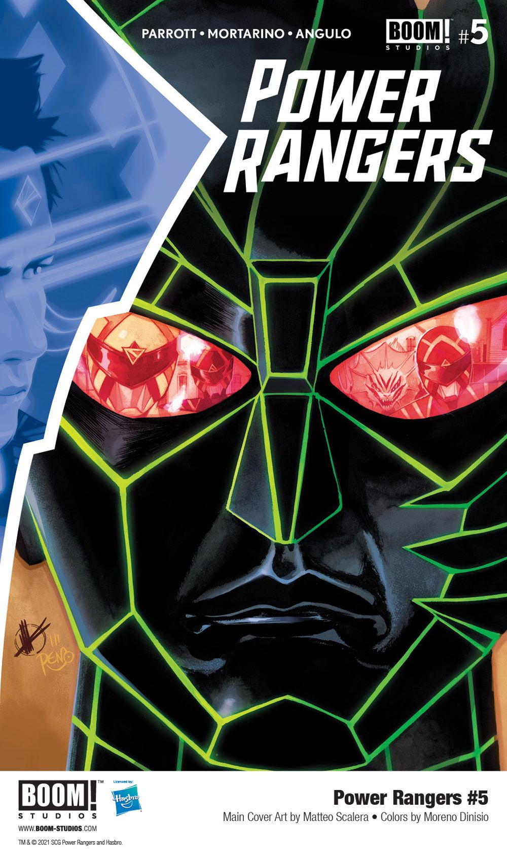 PowerRangers_005_Cover_Main_PROMO First Look at BOOM! Studios' POWER RANGERS #5