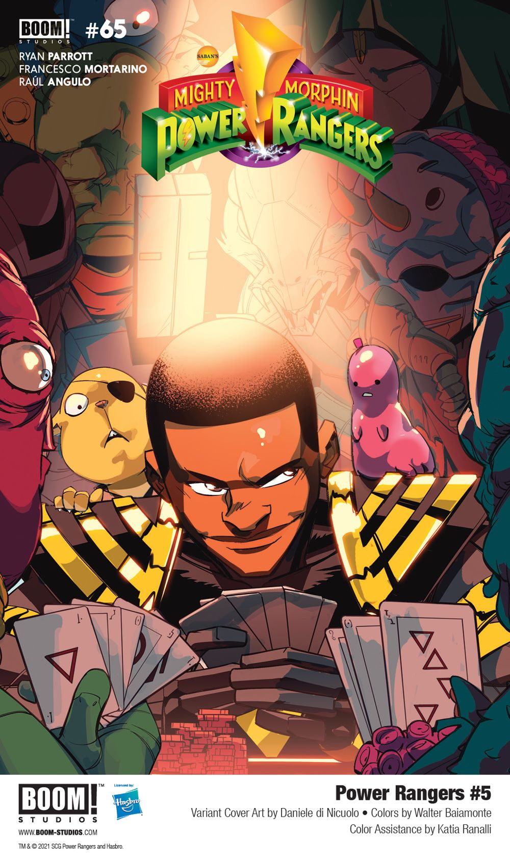 PowerRangers_005_Cover_Variant_Legacy_PROMO First Look at BOOM! Studios' POWER RANGERS #5