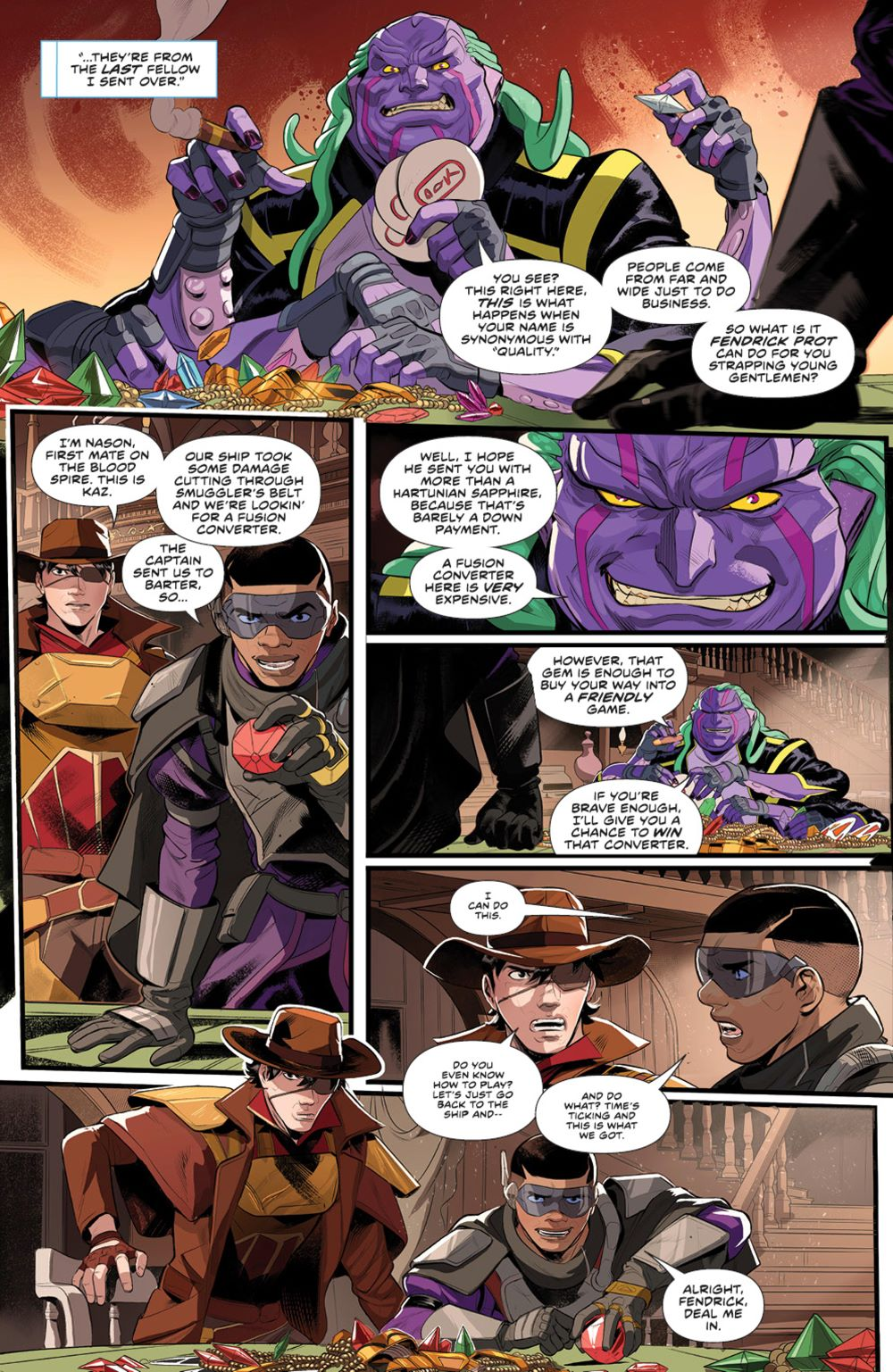 PowerRangers_005_PRESS_5 ComicList Previews: POWER RANGERS #5