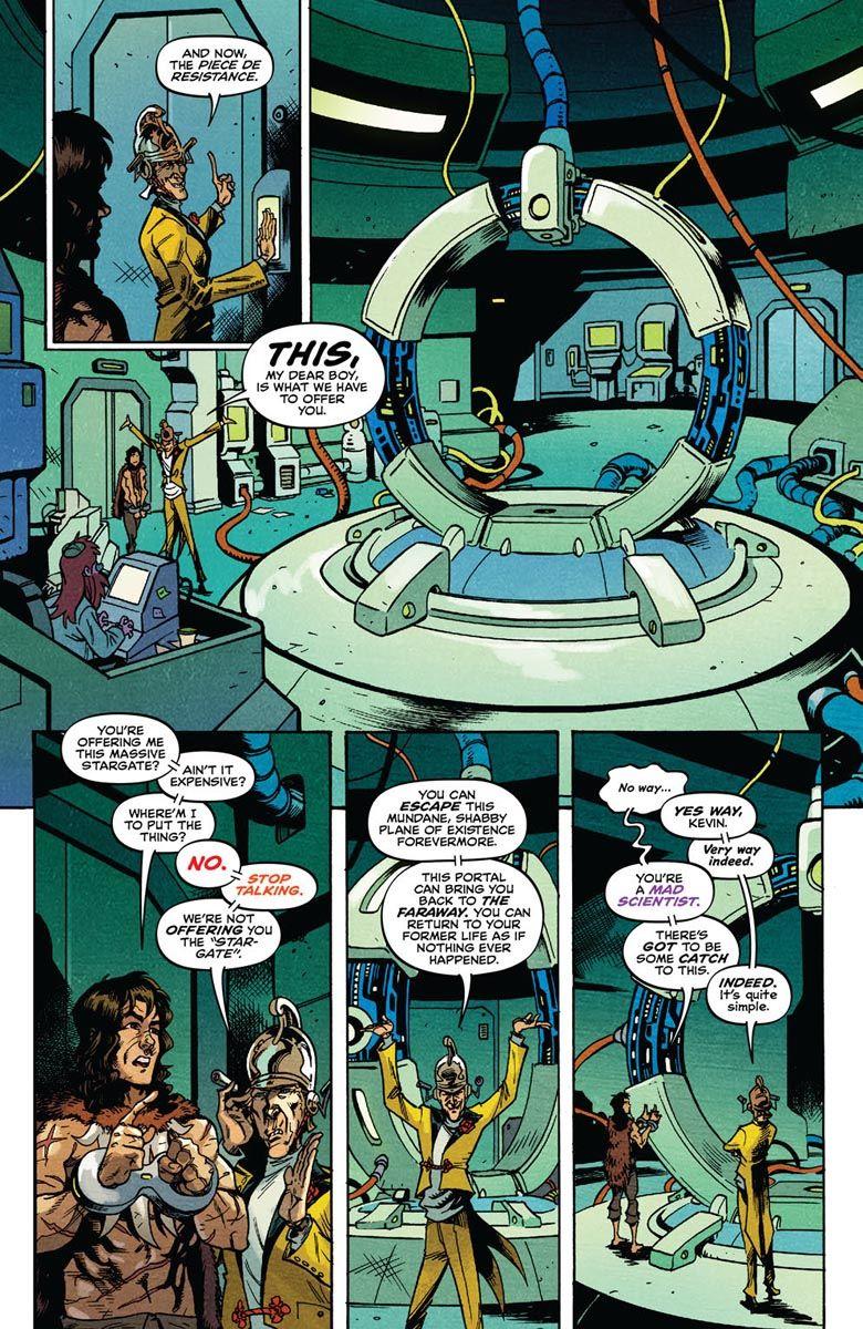 SAVAGE_2_PREVIEW_5 ComicList Previews: SAVAGE #2
