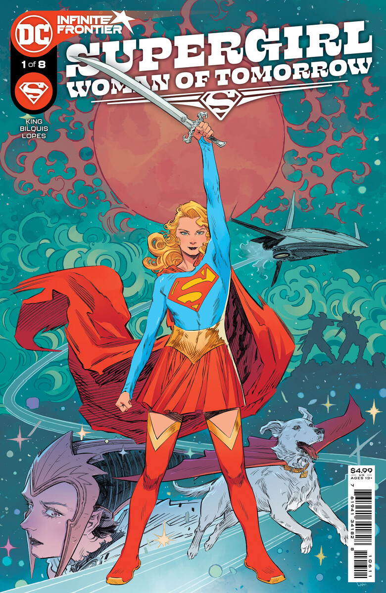 SG_WOT_Cv1_603d7eb2439a04.53674129 SUPERGIRL: WOMAN OF TOMORROW flies out of DC's Infinite Frontier