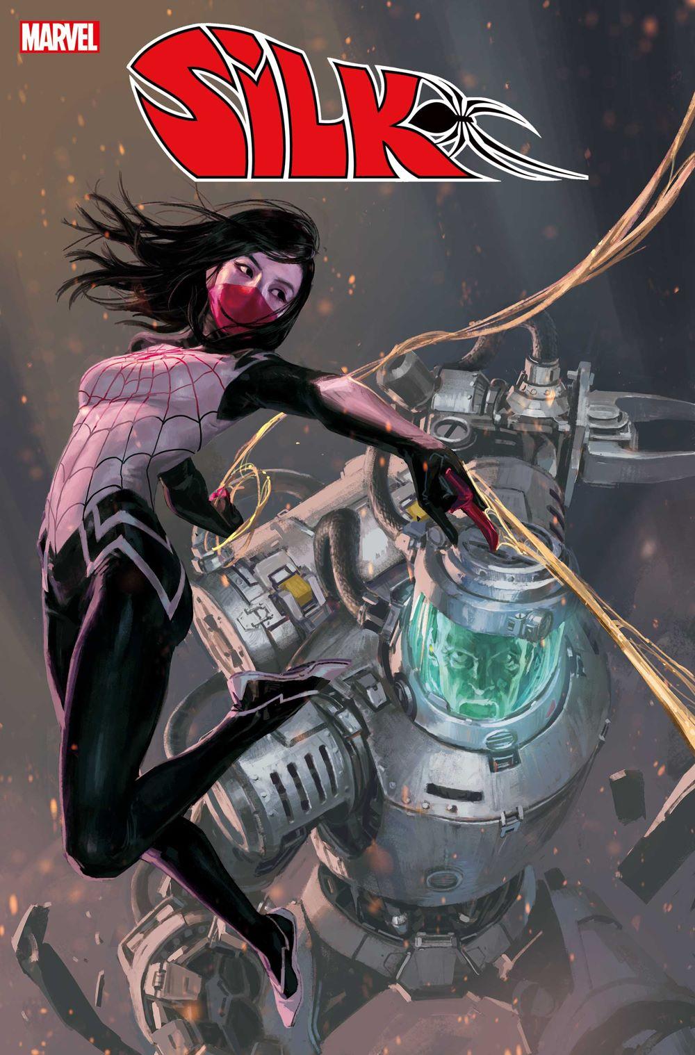 SILK2021004_cov Marvel Comics June 2021 Solicitations