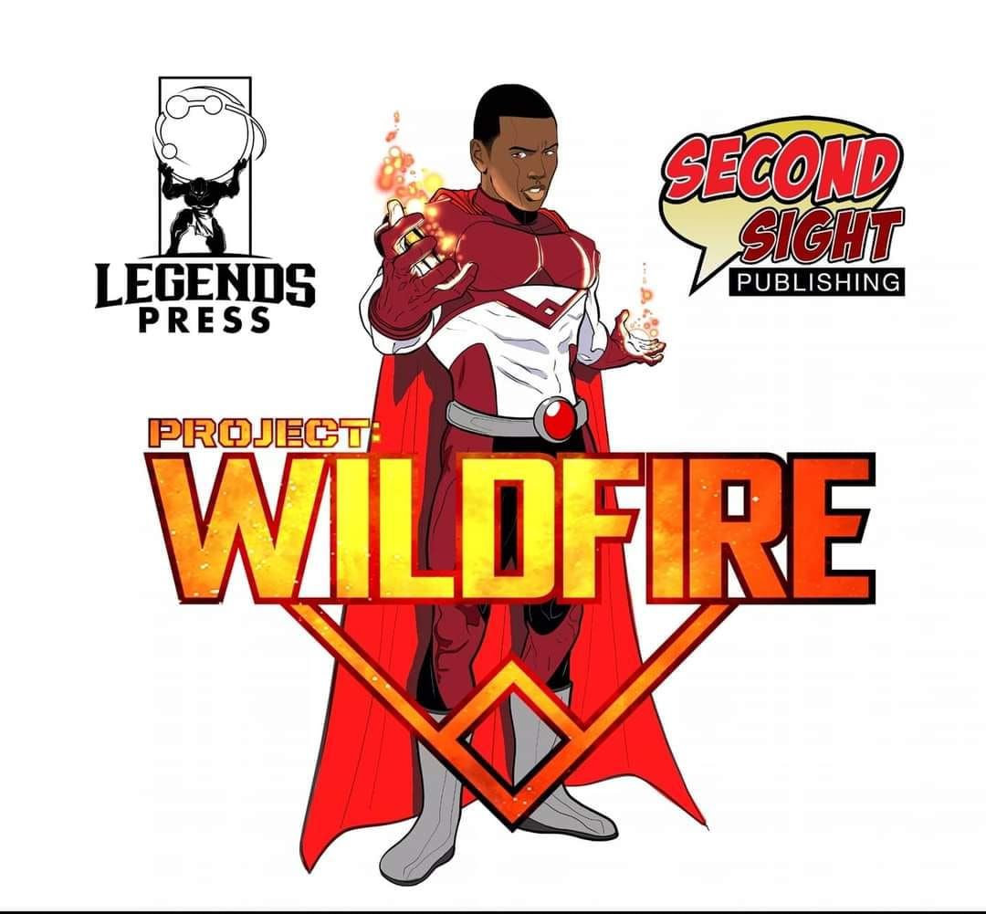 SSP-HANNIBAL Quinn McGowan launches PROJECT WILDFIRE at Second Sight Publishing