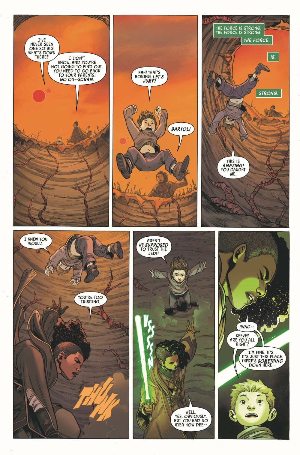 STWHIGHREP2020003_Preview-6 ComicList Previews: STAR WARS THE HIGH REPUBLIC #3