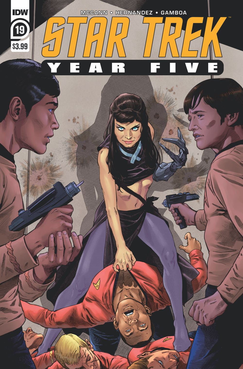 ST_YearFive19-cover ComicList Previews: STAR TREK YEAR FIVE #19