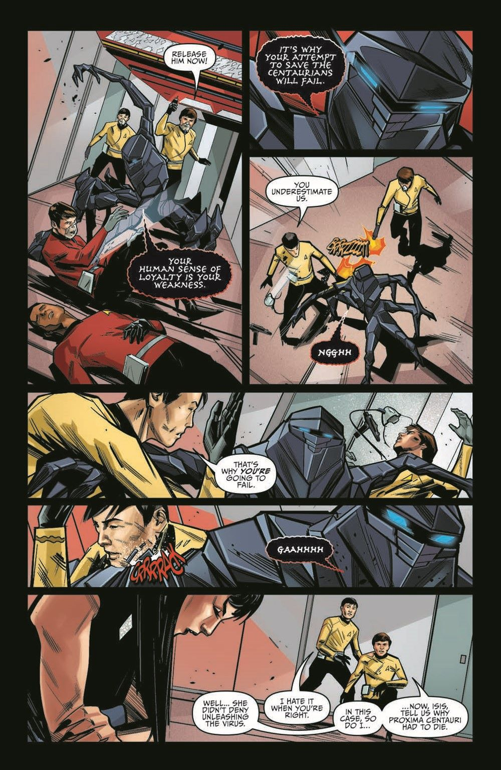 ST_YearFive19-pr-5 ComicList Previews: STAR TREK YEAR FIVE #19