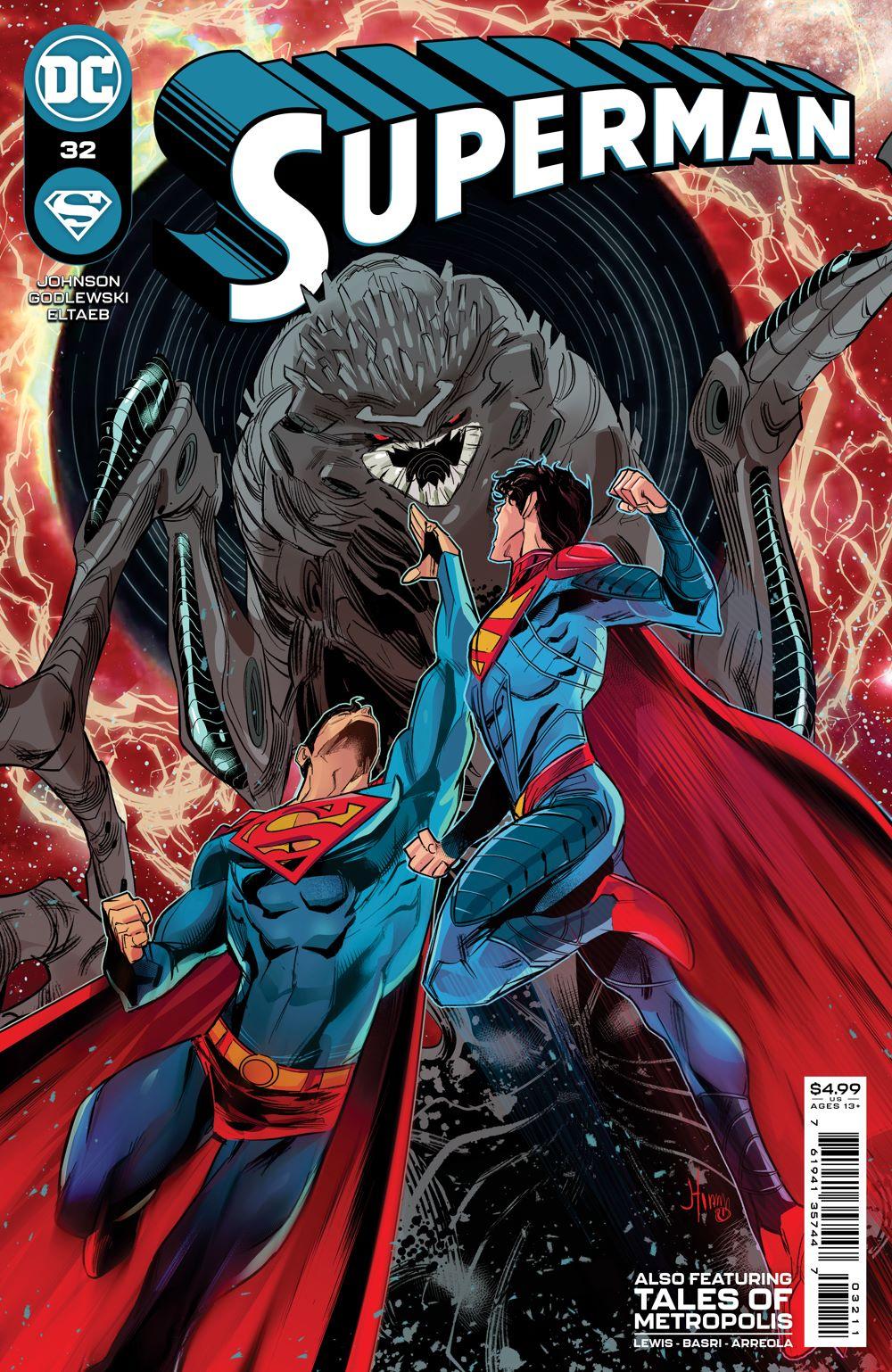 SUPERMAN_Cv32 DC Comics June 2021 Solicitations