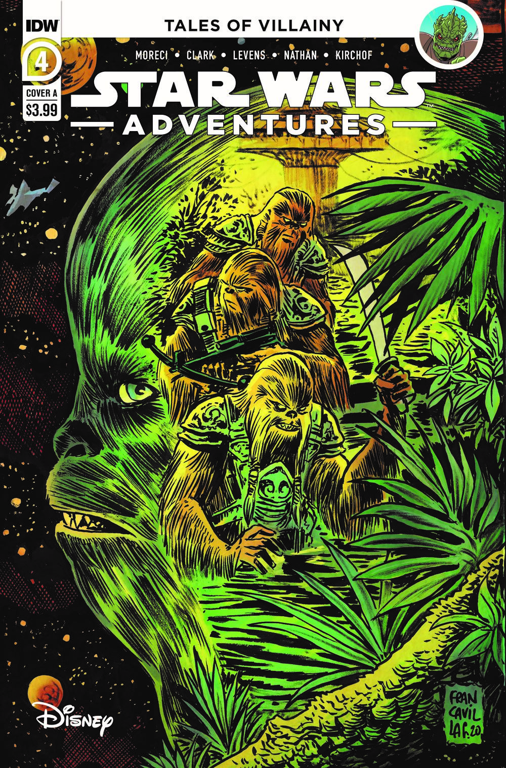 SWA-04-Cover-A ComicList: IDW Publishing New Releases for 03/24/2021