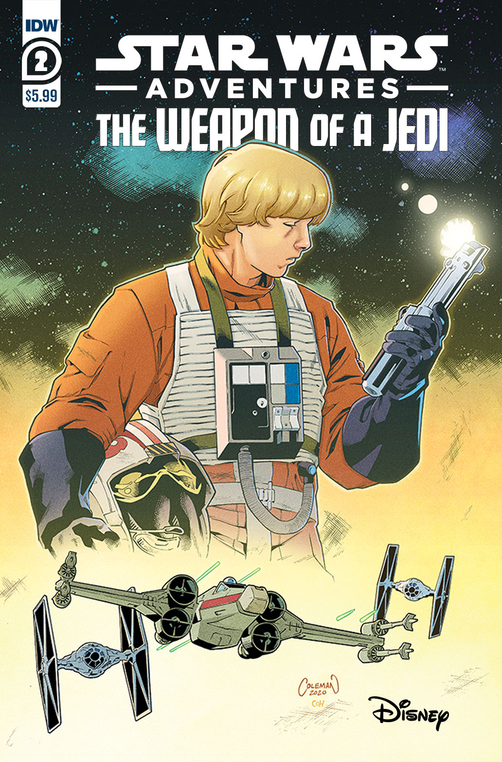 SWAWeaponofaJedi02-A-copy IDW Publishing June 2021 Solicitations