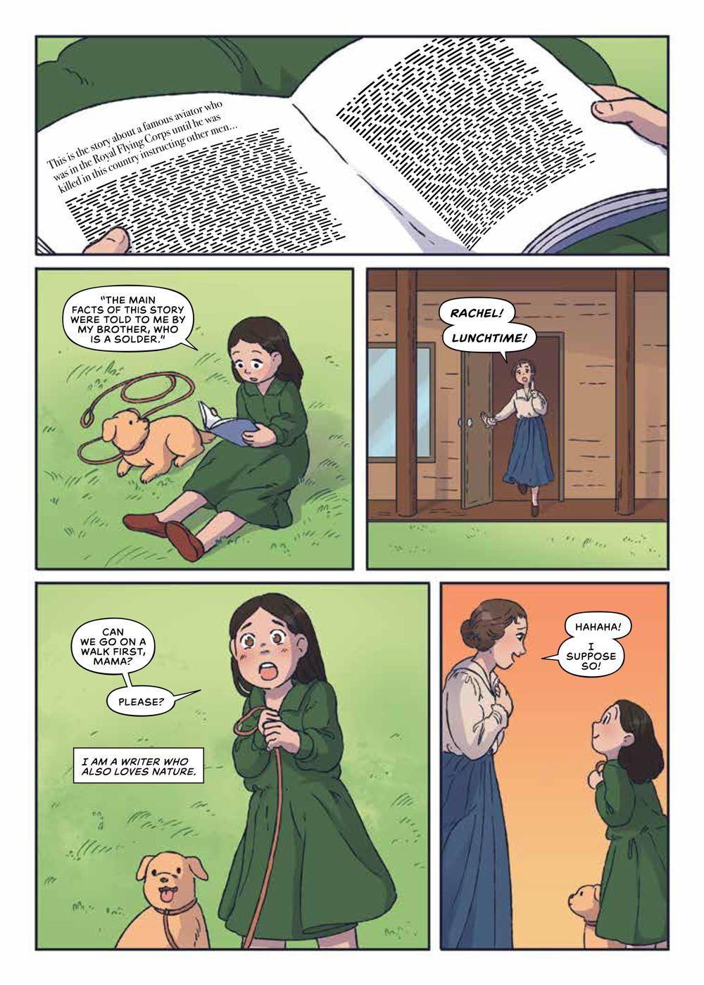 Seen_RachelCarson_OGN_SC_PRESS_12 ComicList Previews: SEEN TRUE STORIES OF MARGINALIZED TRAILBLAZERS VOLUME 2 RACHEL CARSON GN