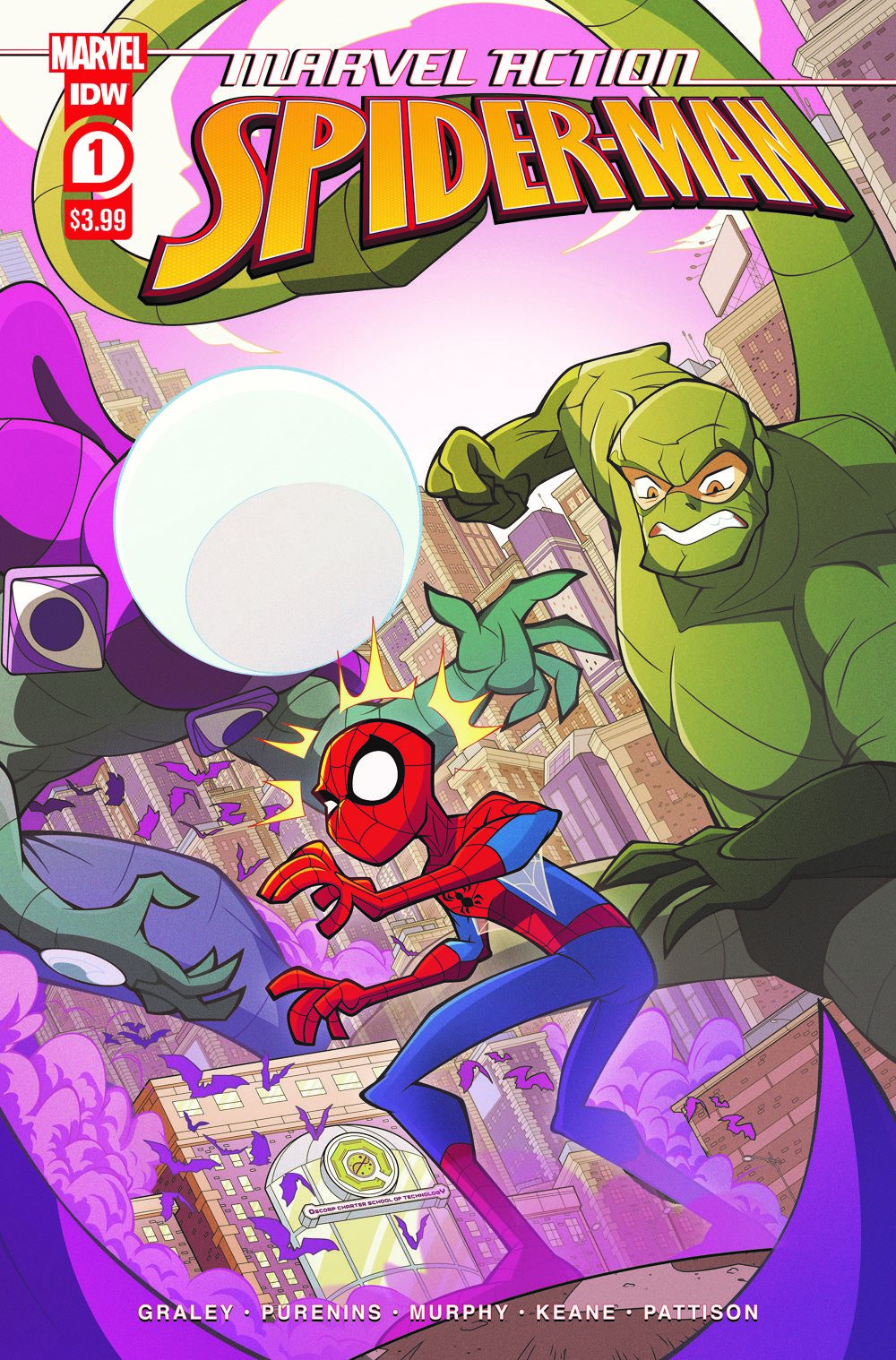 SpidermanV3-01_cvrA ComicList: IDW Publishing New Releases for 03/31/2021