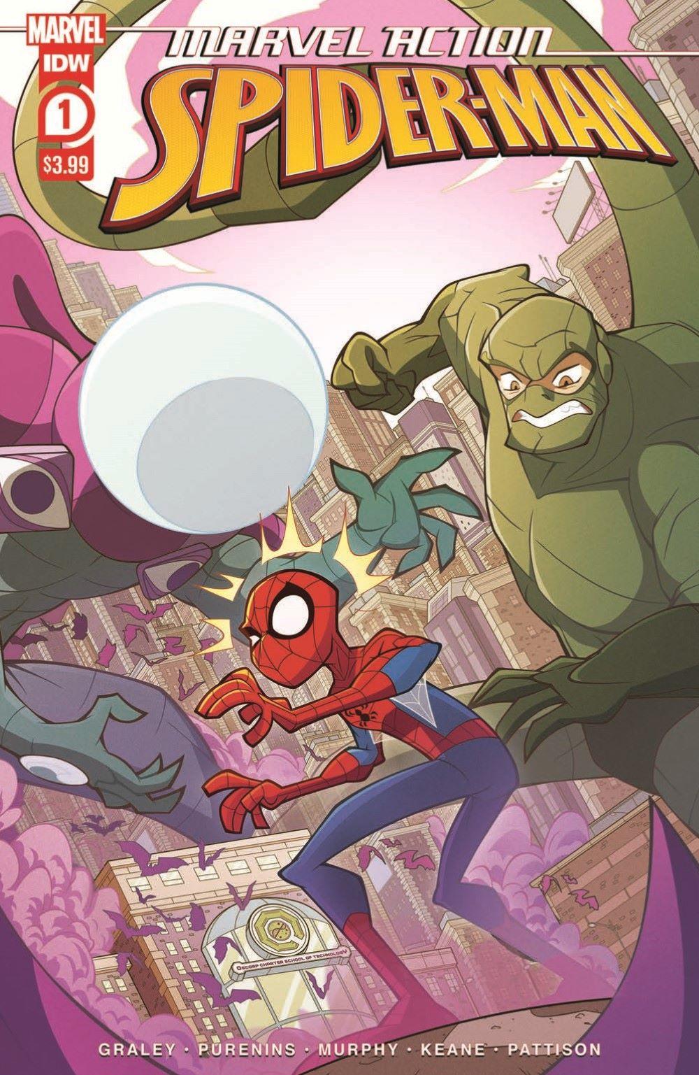 SpidermanV3-01_pr-1 ComicList Previews: MARVEL ACTION SPIDER-MAN VOLUME 3 #1