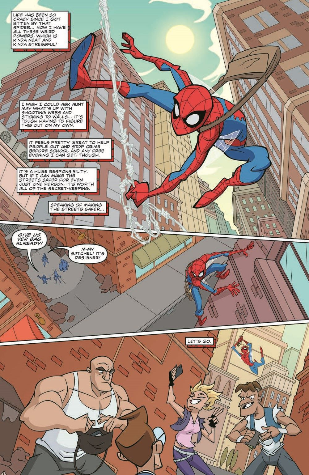 SpidermanV3-01_pr-4 ComicList Previews: MARVEL ACTION SPIDER-MAN VOLUME 3 #1