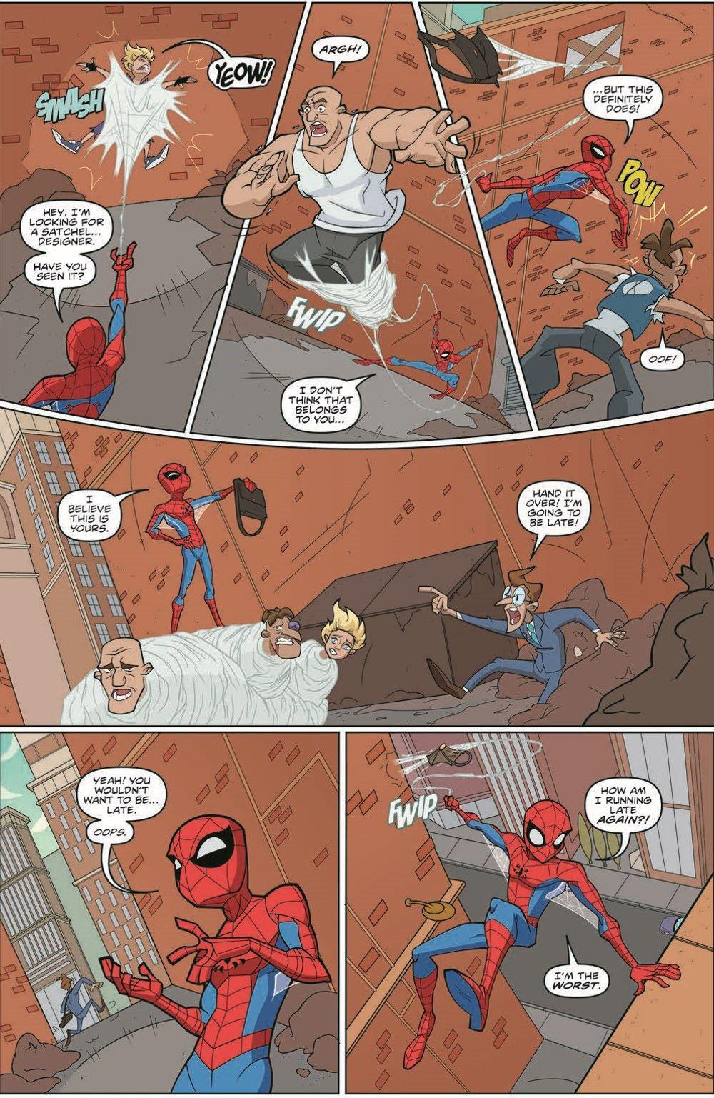 SpidermanV3-01_pr-5 ComicList Previews: MARVEL ACTION SPIDER-MAN VOLUME 3 #1