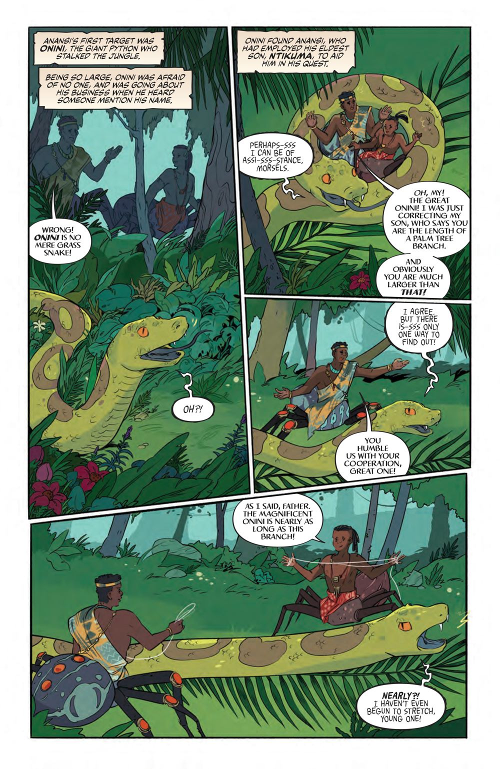 Storyteller_Tricksters_001_PRESS_8 ComicList Previews: JIM HENSON'S THE STORYTELLER TRICKSTERS #1 (OF 4)