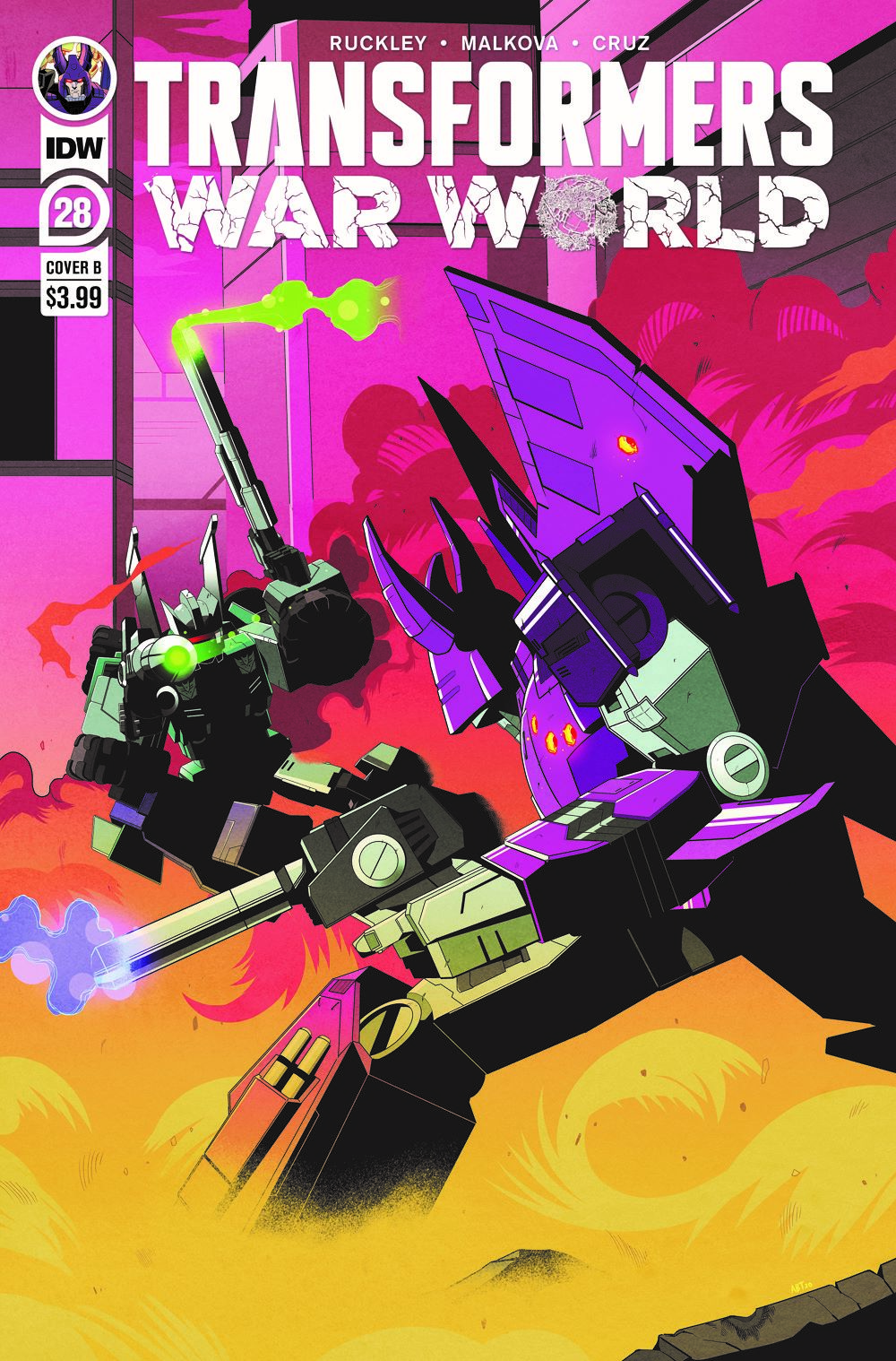 TF28-cvr-B ComicList: IDW Publishing New Releases for 03/31/2021