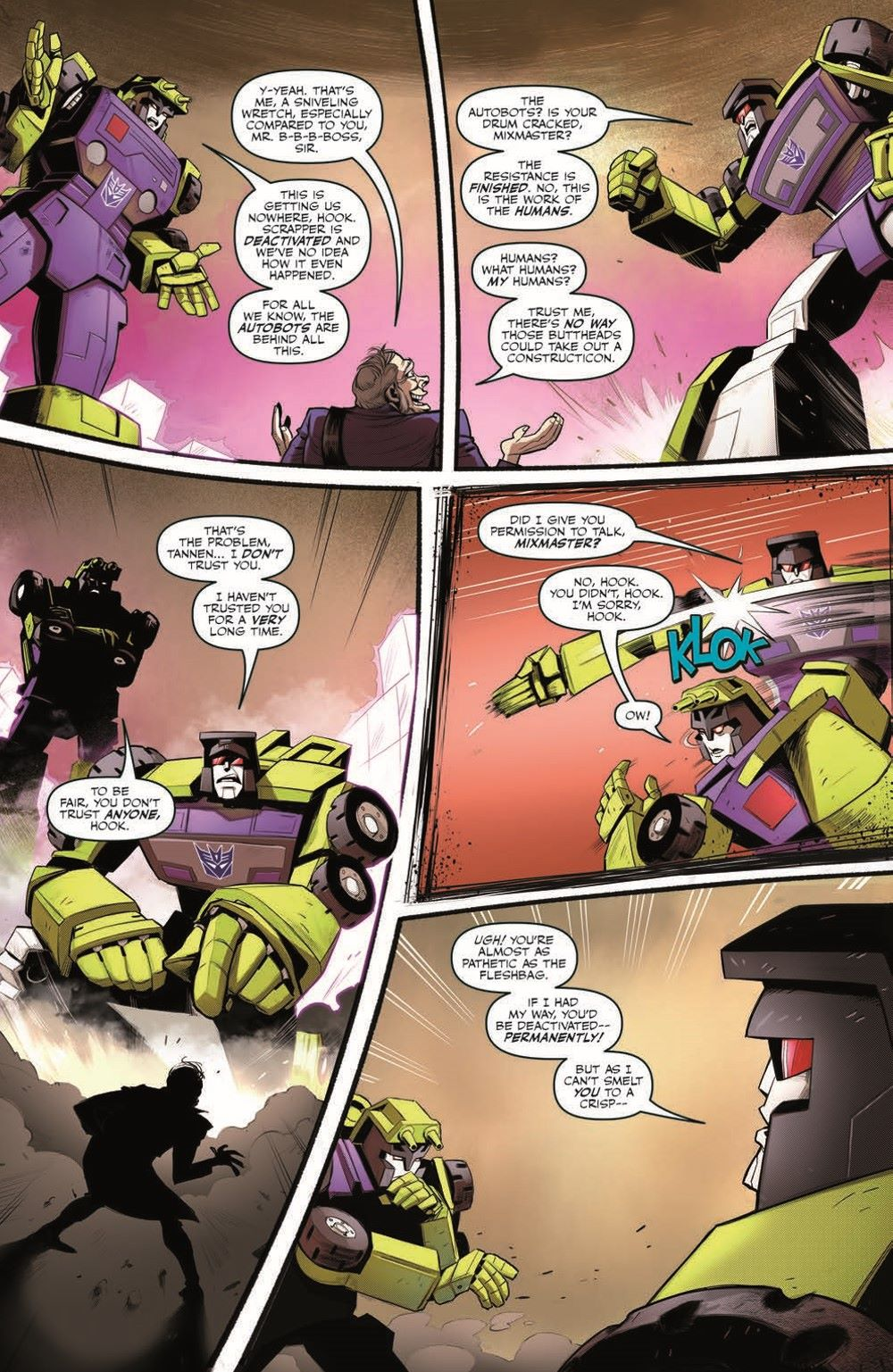 TF_BTTF03-pr-4 ComicList Previews: TRANSFORMERS BACK TO THE FUTURE #3 (OF 4)