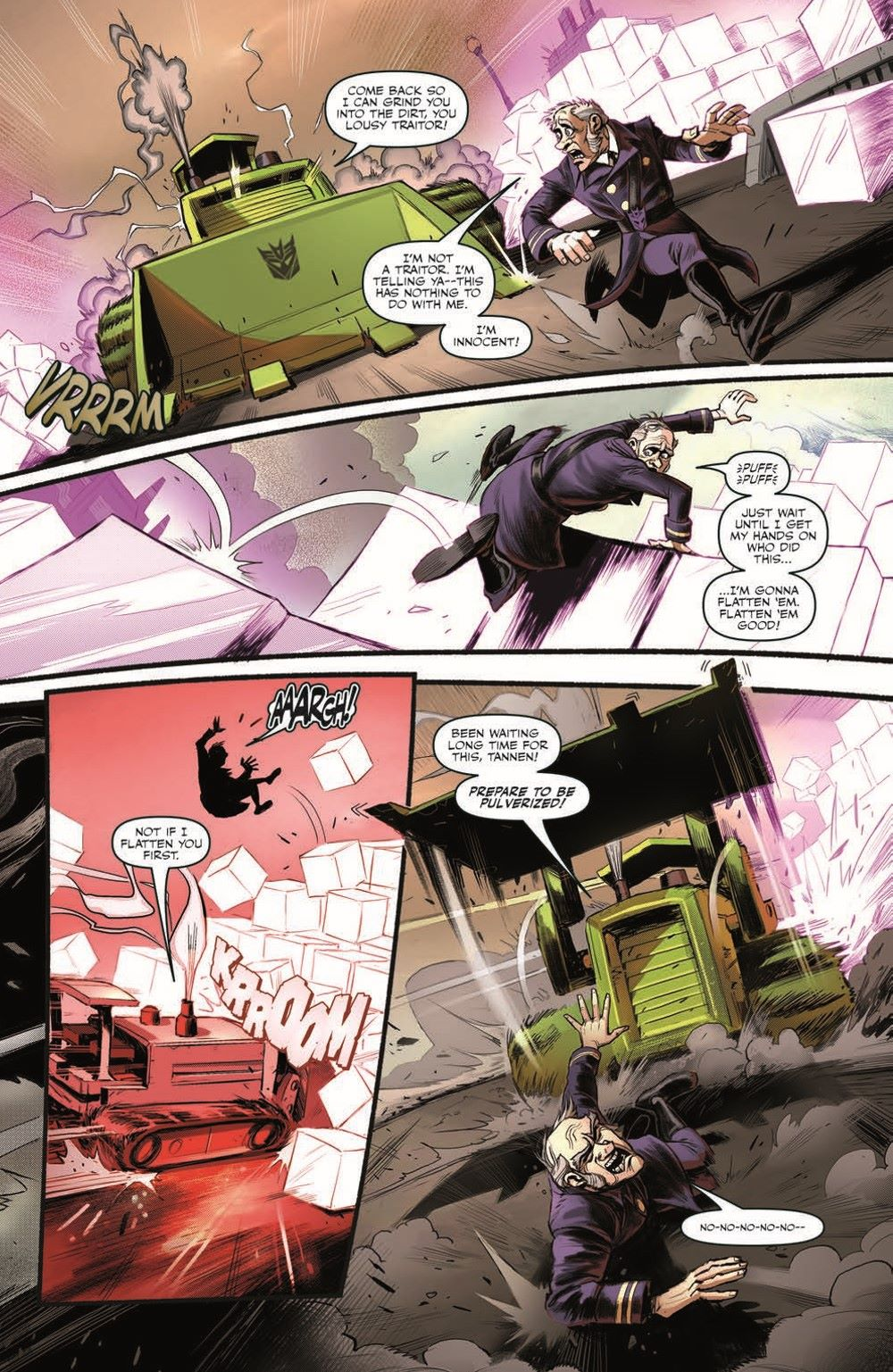 TF_BTTF03-pr-6 ComicList Previews: TRANSFORMERS BACK TO THE FUTURE #3 (OF 4)