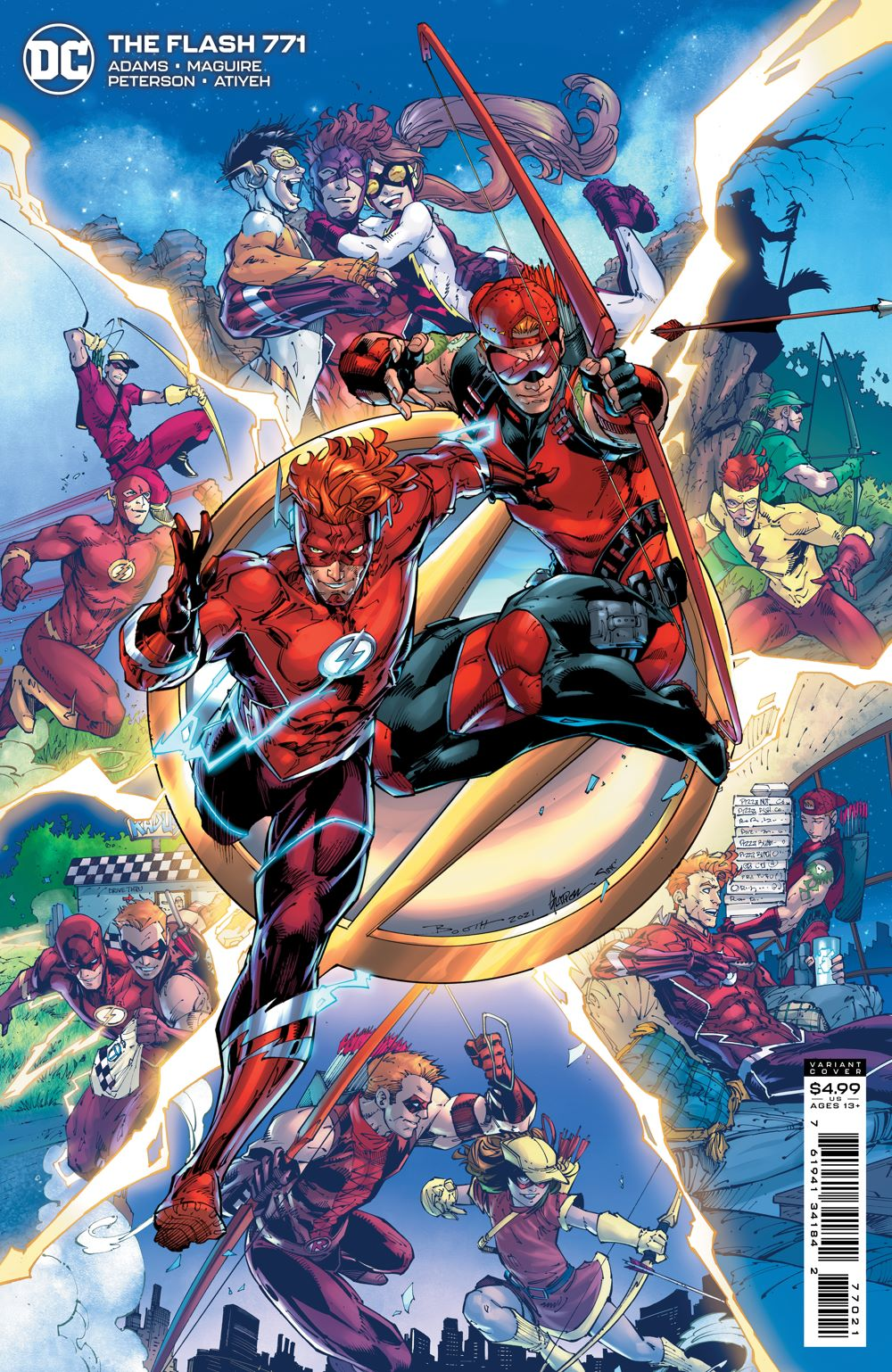 THEFLASH_Cv771_var DC Comics June 2021 Solicitations
