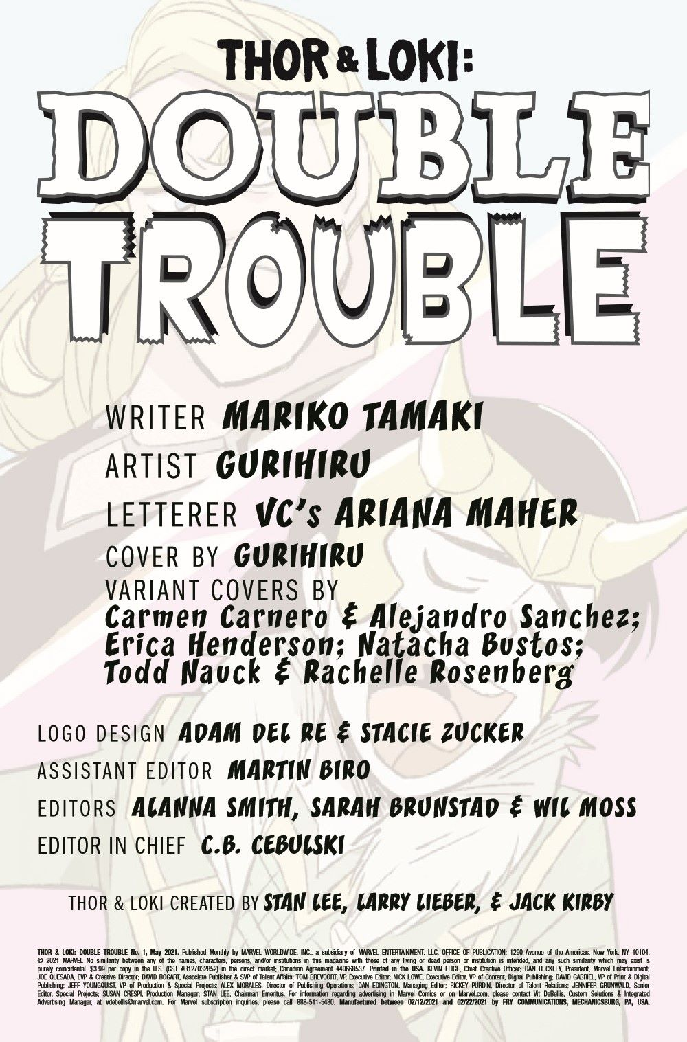 THORLOKIDT2020001_Preview-2 ComicList Previews: THOR AND LOKI DOUBLE TROUBLE #1 (OF 4)