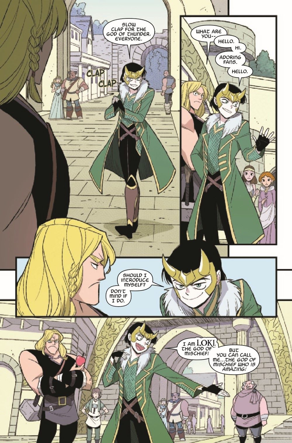 THORLOKIDT2020001_Preview-6 ComicList Previews: THOR AND LOKI DOUBLE TROUBLE #1 (OF 4)