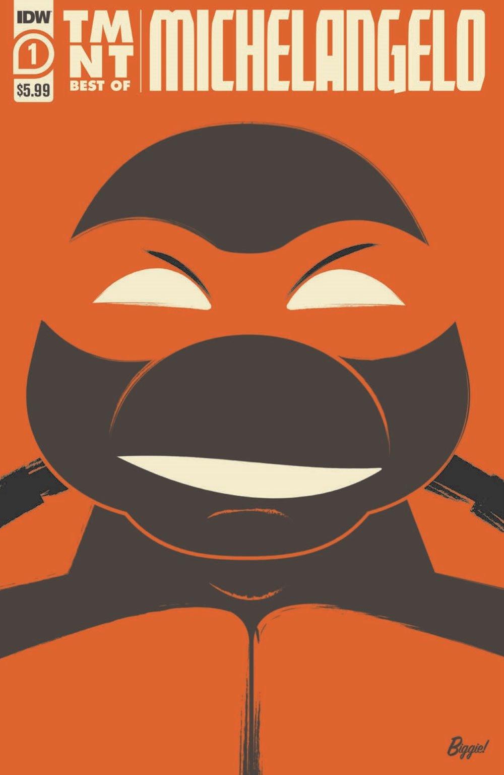 TMNT-Bestof-Mike_pr-1 ComicList Previews: TEENAGE MUTANT NINJA TURTLES BEST OF MICHELANGELO #1