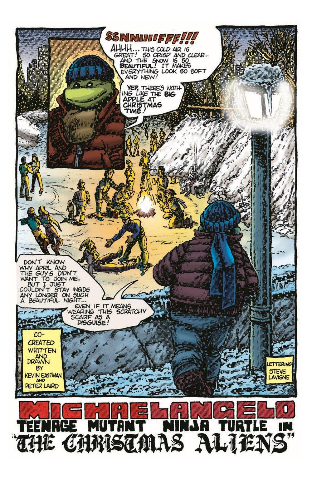 TMNT-Bestof-Mike_pr-3 ComicList Previews: TEENAGE MUTANT NINJA TURTLES BEST OF MICHELANGELO #1