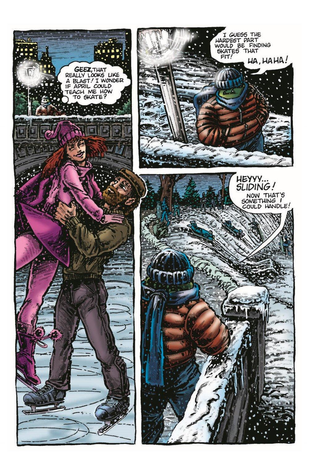 TMNT-Bestof-Mike_pr-4 ComicList Previews: TEENAGE MUTANT NINJA TURTLES BEST OF MICHELANGELO #1