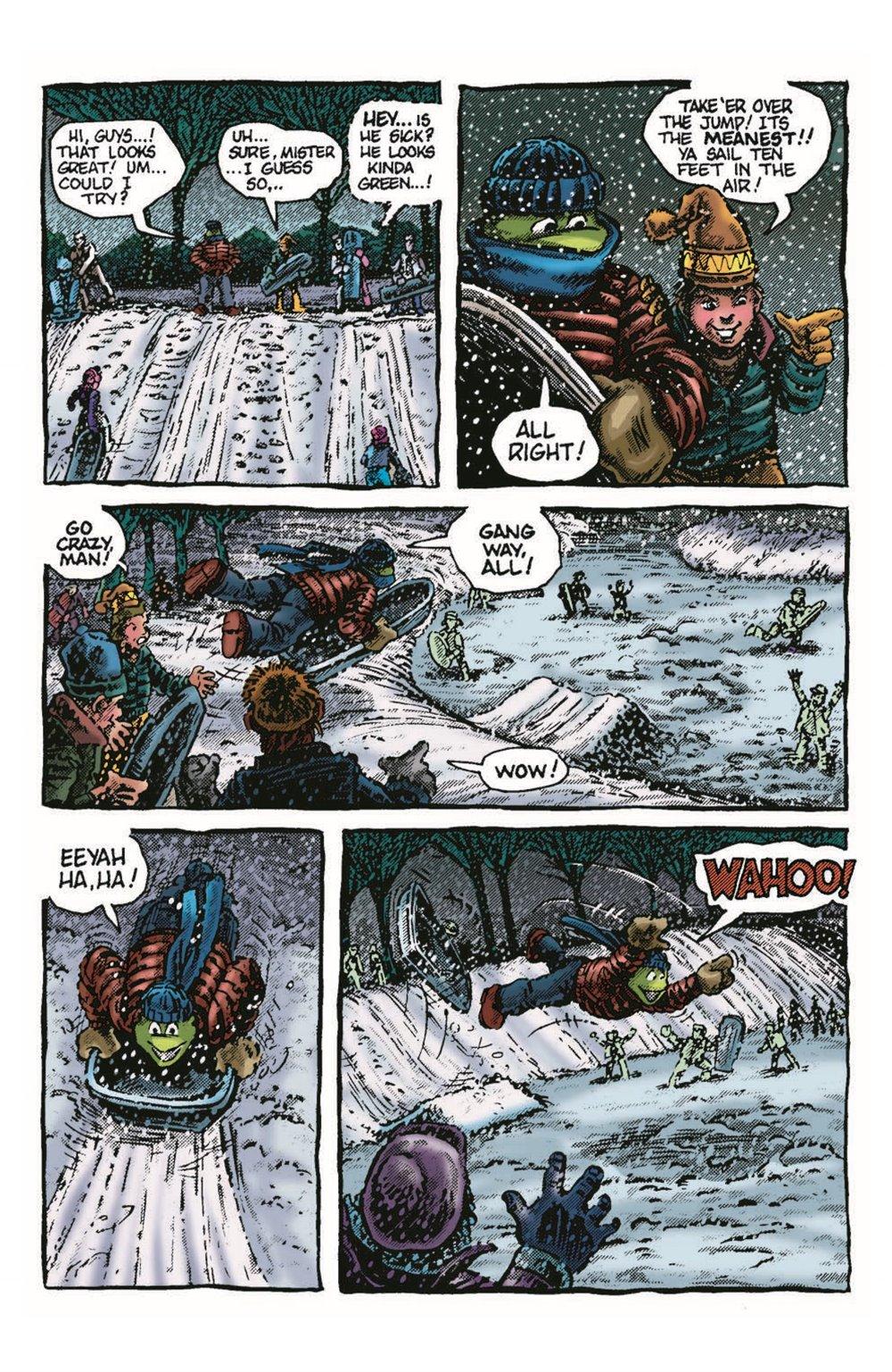 TMNT-Bestof-Mike_pr-5 ComicList Previews: TEENAGE MUTANT NINJA TURTLES BEST OF MICHELANGELO #1