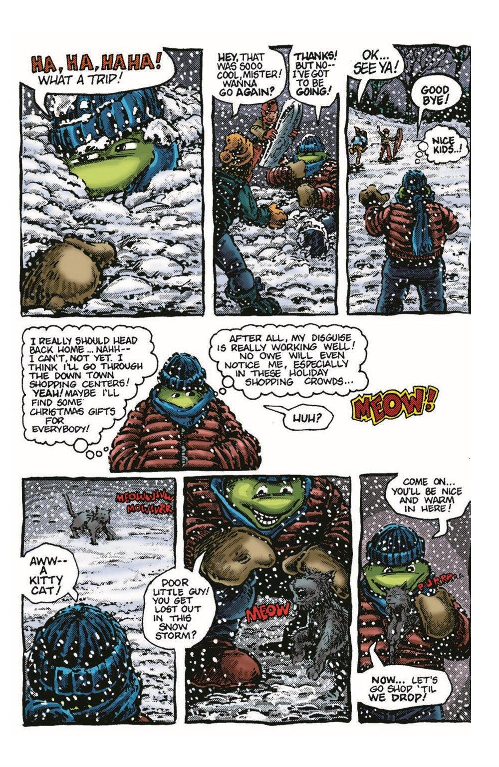 TMNT-Bestof-Mike_pr-6 ComicList Previews: TEENAGE MUTANT NINJA TURTLES BEST OF MICHELANGELO #1