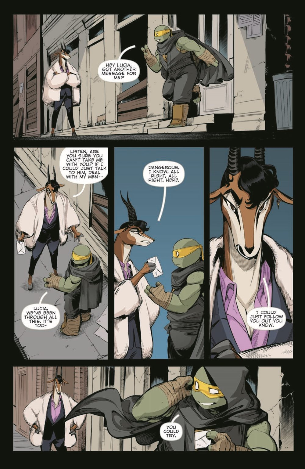 TMNT-JennikaII_05_pr-6 ComicList Previews: TEENAGE MUTANT NINJA TURTLES JENNIKA II #5 (OF 6)