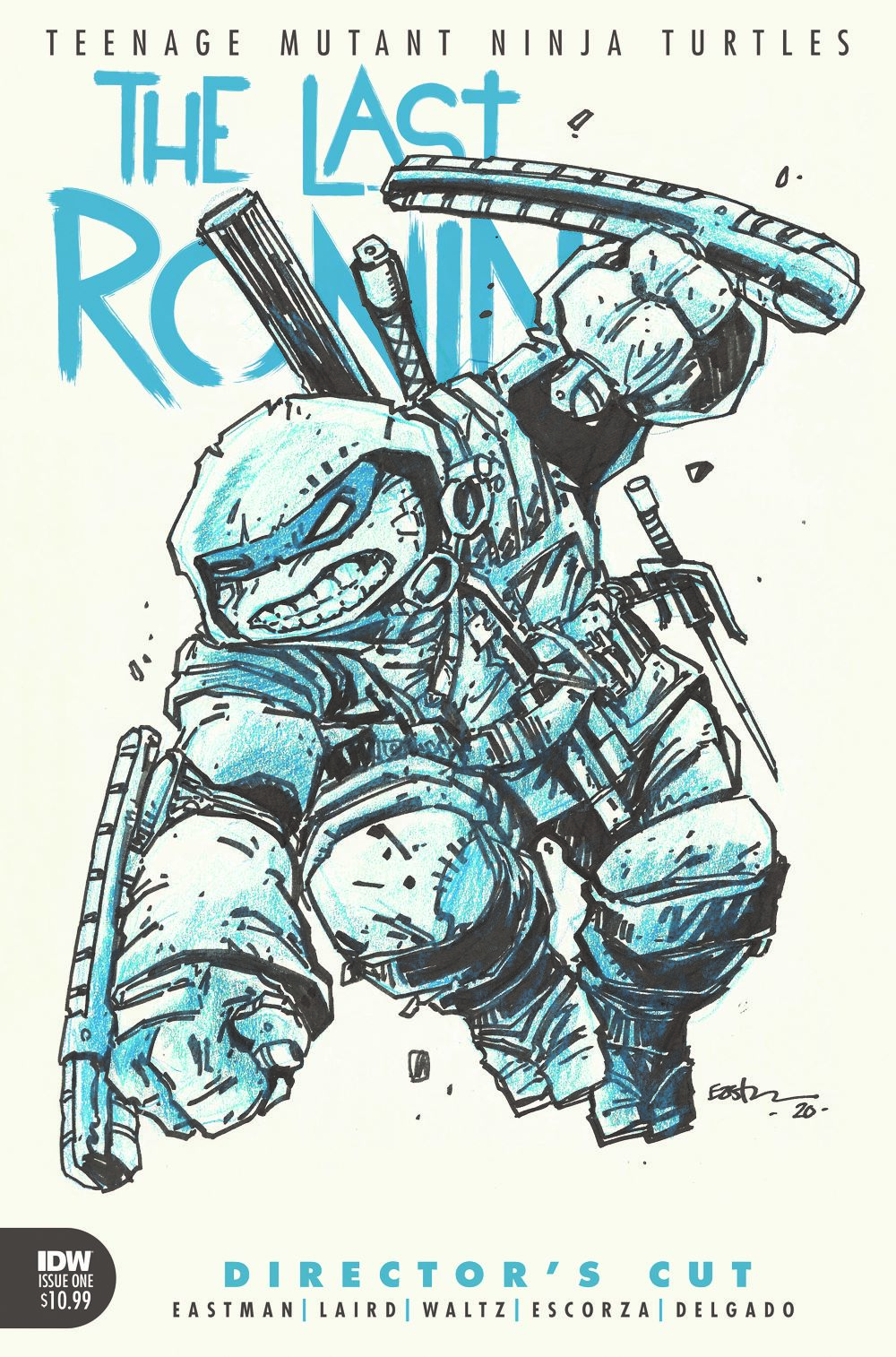 TMNT-LastRonin01_DC_cvr ComicList: IDW Publishing New Releases for 03/17/2021