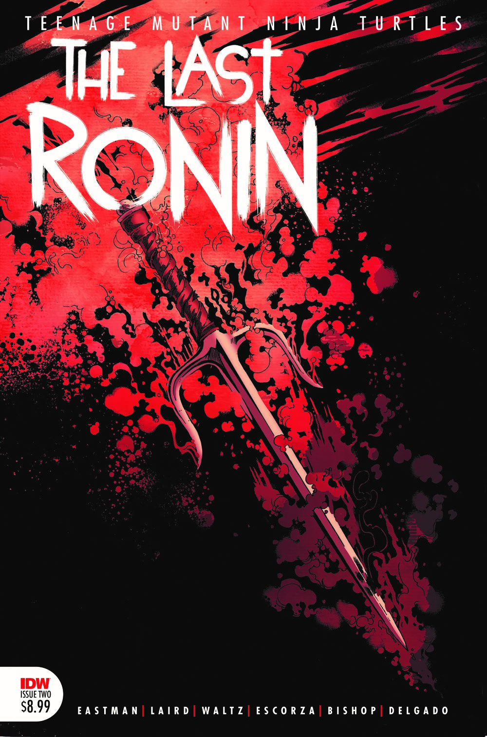 TMNT-LastRonin02_cvr2nd-mock ComicList: IDW Publishing New Releases for 03/31/2021