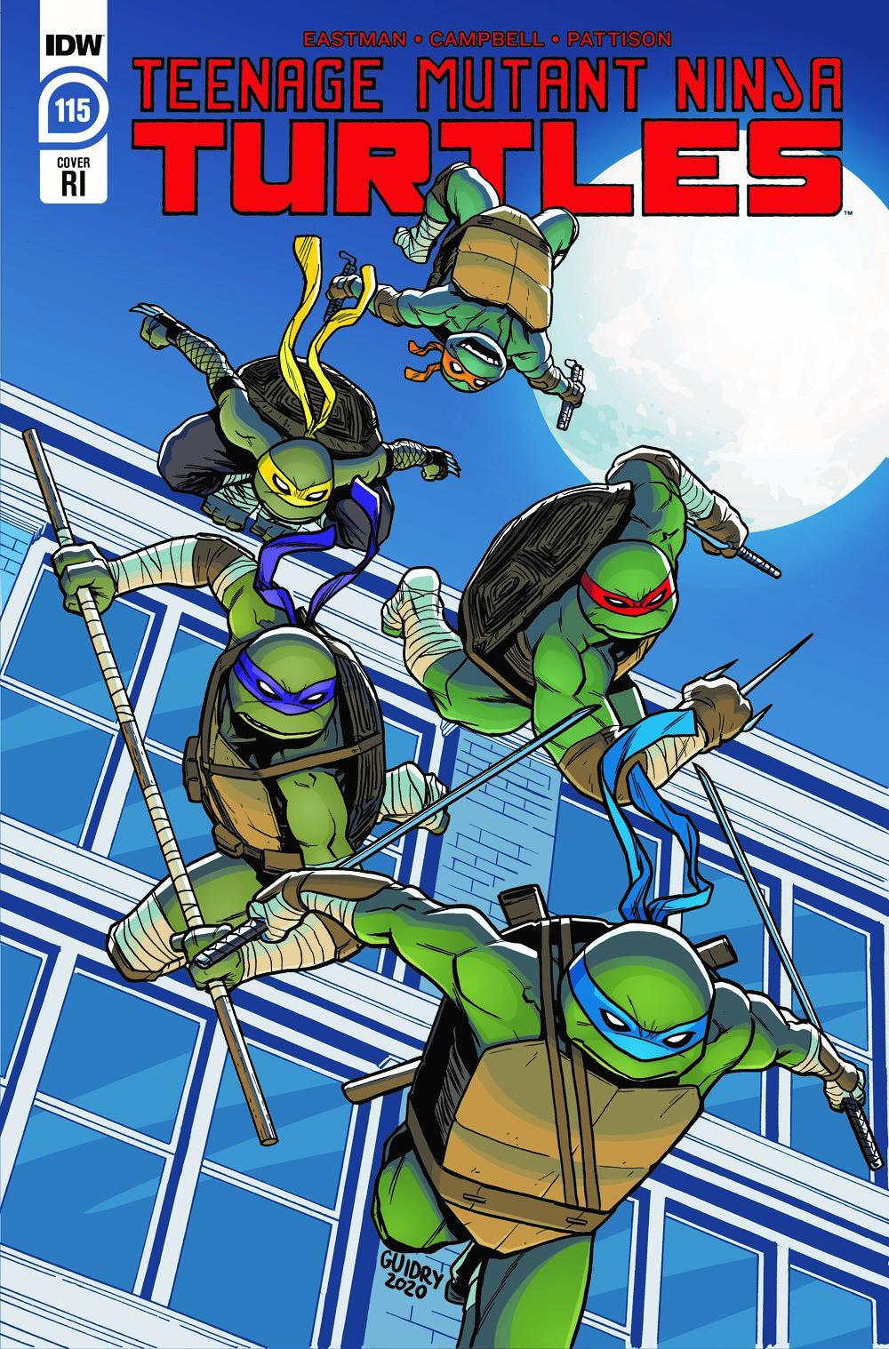 TMNT115_cvrRI ComicList Previews: TEENAGE MUTANT NINJA TURTLES #115