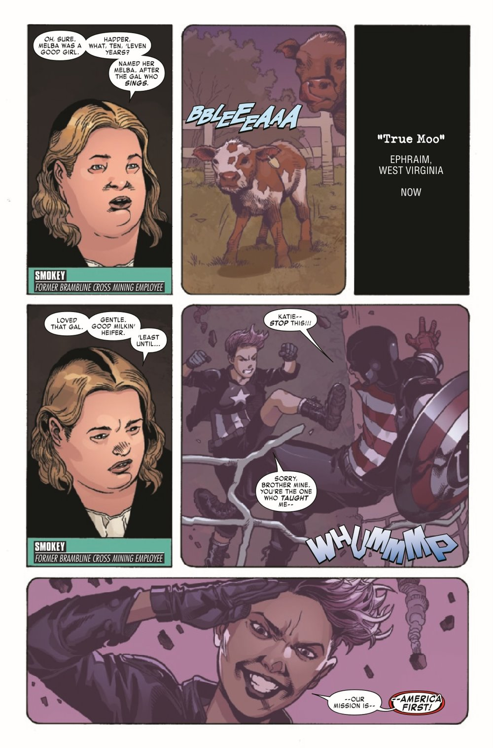 USAGENT2020004_Preview-3 ComicList Previews: U.S.AGENT #4 (OF 5)
