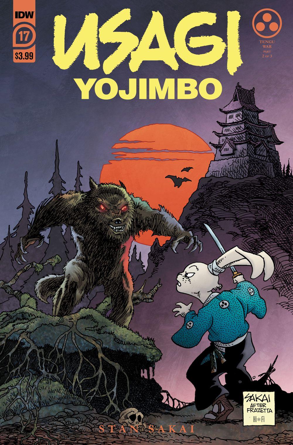 Usagi17_cvrA ComicList Previews: USAGI YOJIMBO #17