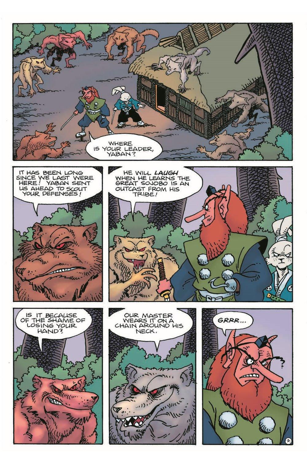 Usagi17_pr-4 ComicList Previews: USAGI YOJIMBO #17