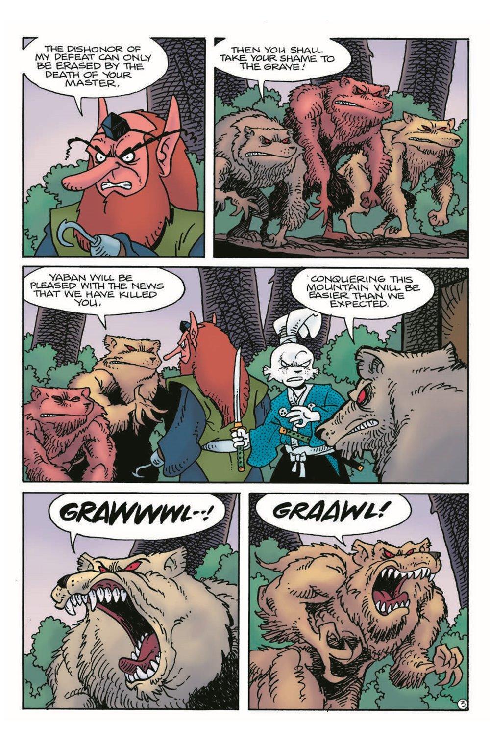 Usagi17_pr-5 ComicList Previews: USAGI YOJIMBO #17