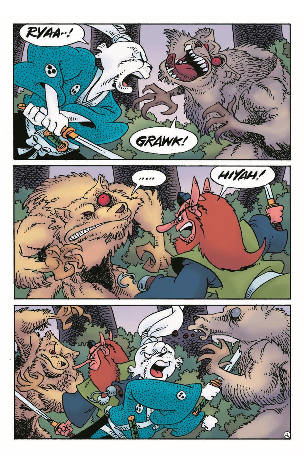 Usagi17_pr-6 ComicList Previews: USAGI YOJIMBO #17