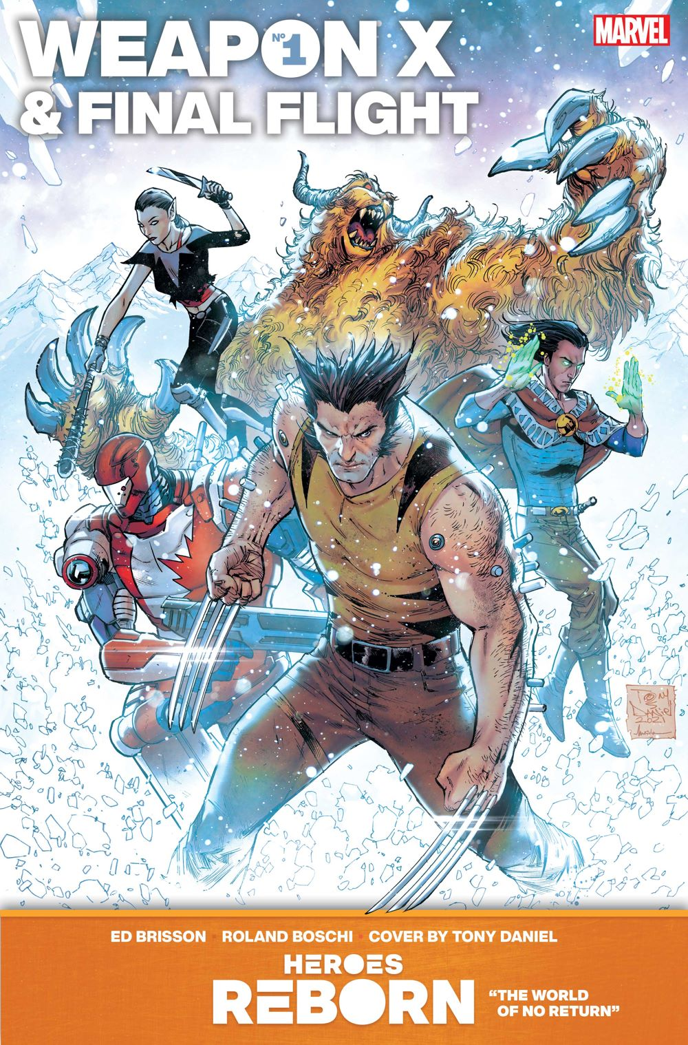 WEAPONX_FINALFLIGHT Even more HEROES REBORN covers are revealed