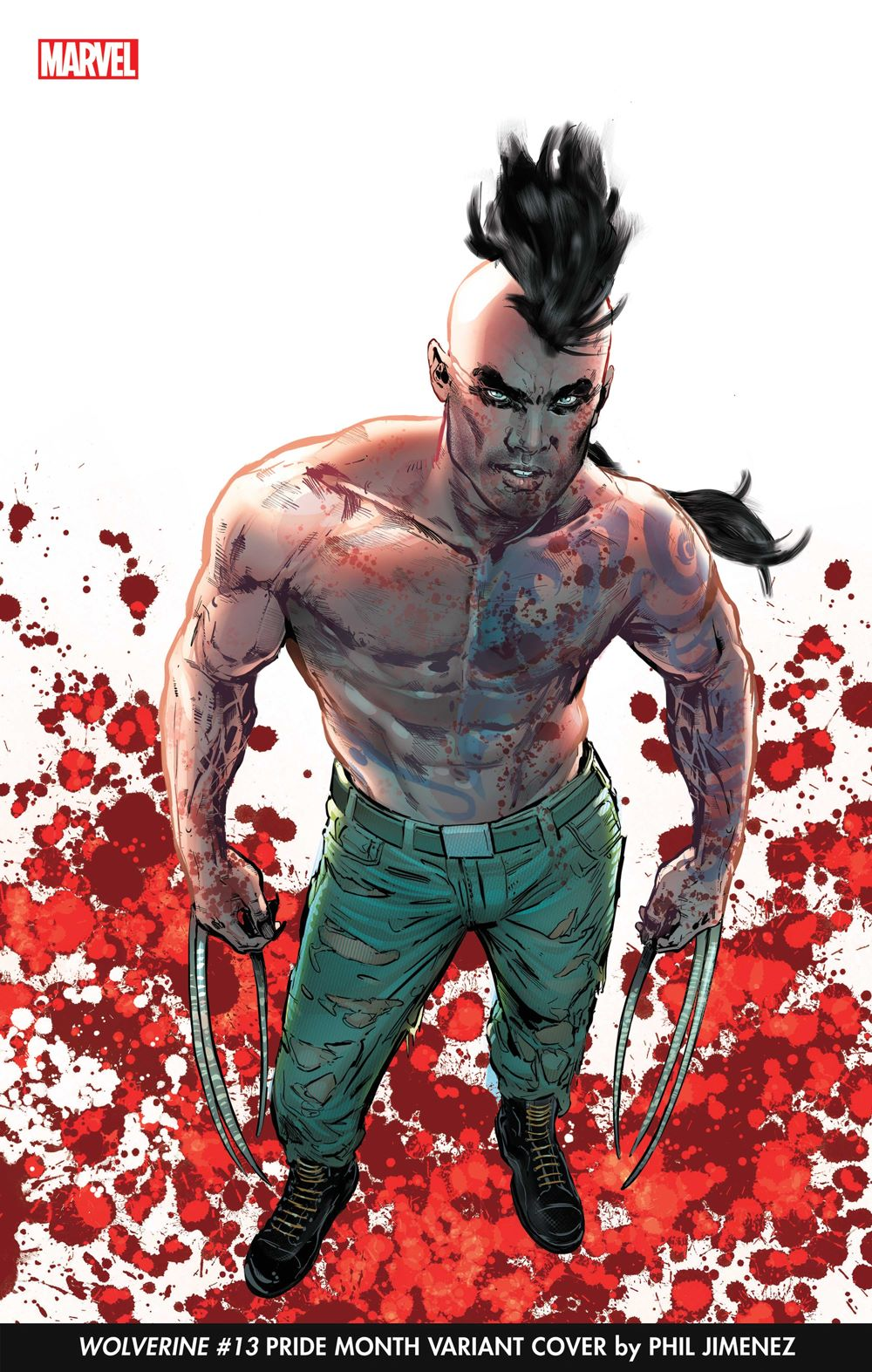 WOLVERINE_13_PrideVar Phil Jimenez will provide covers for Marvel's Pride Month celebration