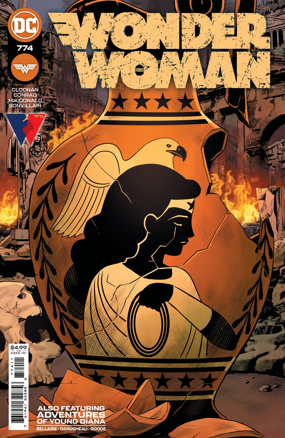 WONDERWOMAN_Cv774 DC Comics June 2021 Solicitations