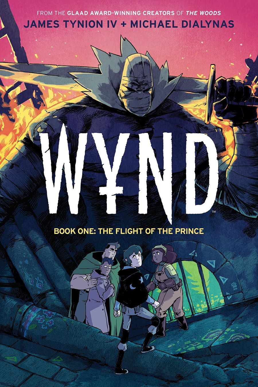 Wynd_v1_HC_Cover ComicList Previews: WYND VOLUME 1 THE FLIGHT OF THE PRINCE HC (COMIC BOOK SHOP EXCLUSIVE HARDCOVER EDITION)