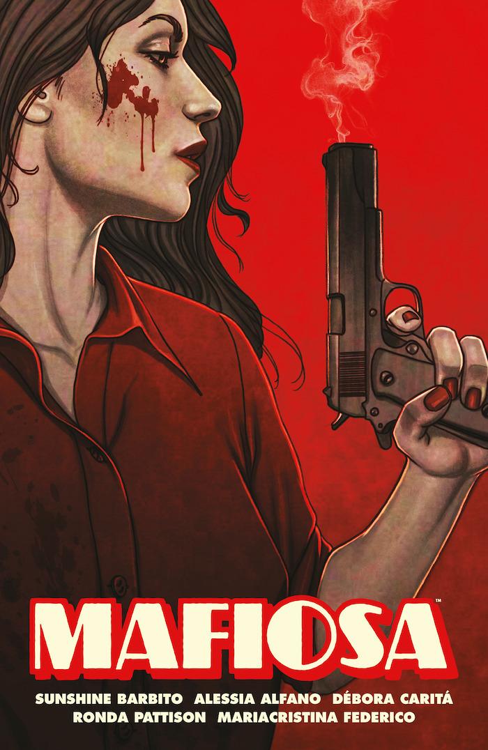 mafiosacov Crime meets comics in the Dark Horse's MAFIOSA